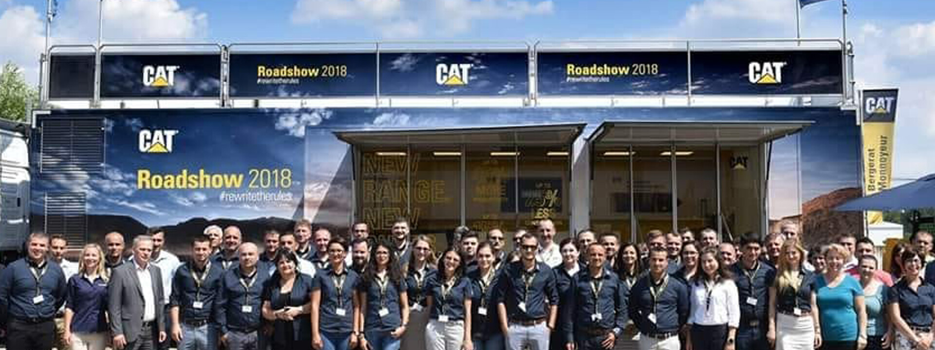 Caterpillar Roadshow Team