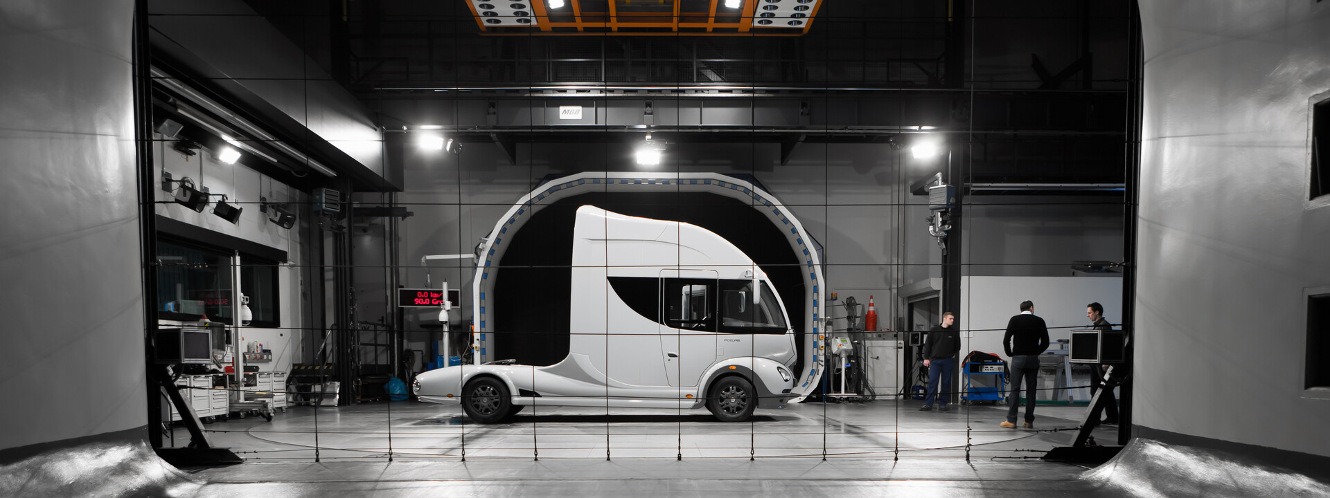 Aerodynamische Designtruck made in Germany by MOST