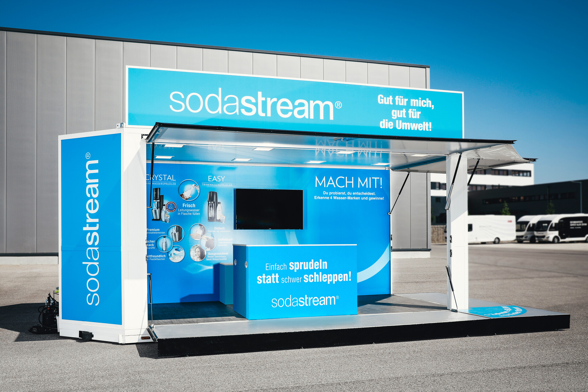 Sodastream Roadshow